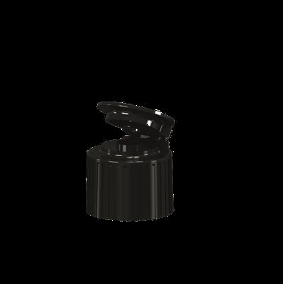 Tapa Snap 15 Estriada Negro