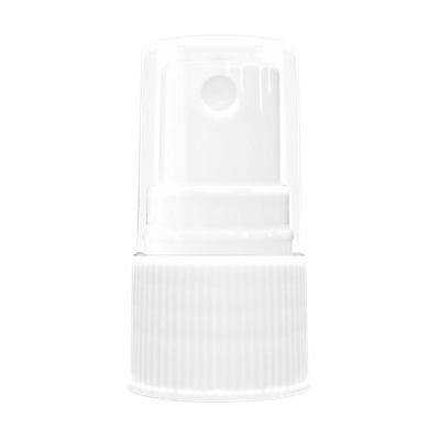 Atomizador Estriado Blanco