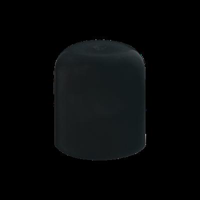 Mini Tapa Redonda Negro