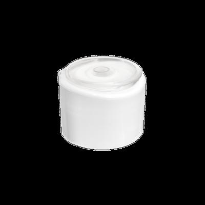 Tapa Italiana Bi Color 24/410 Blanco Stock