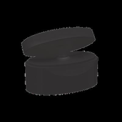 Tapa Clásica Grande Negro Stock