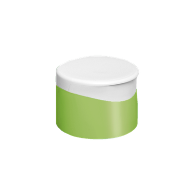 Tapa Doble Pared Italiana Verde-Blanco Stock
