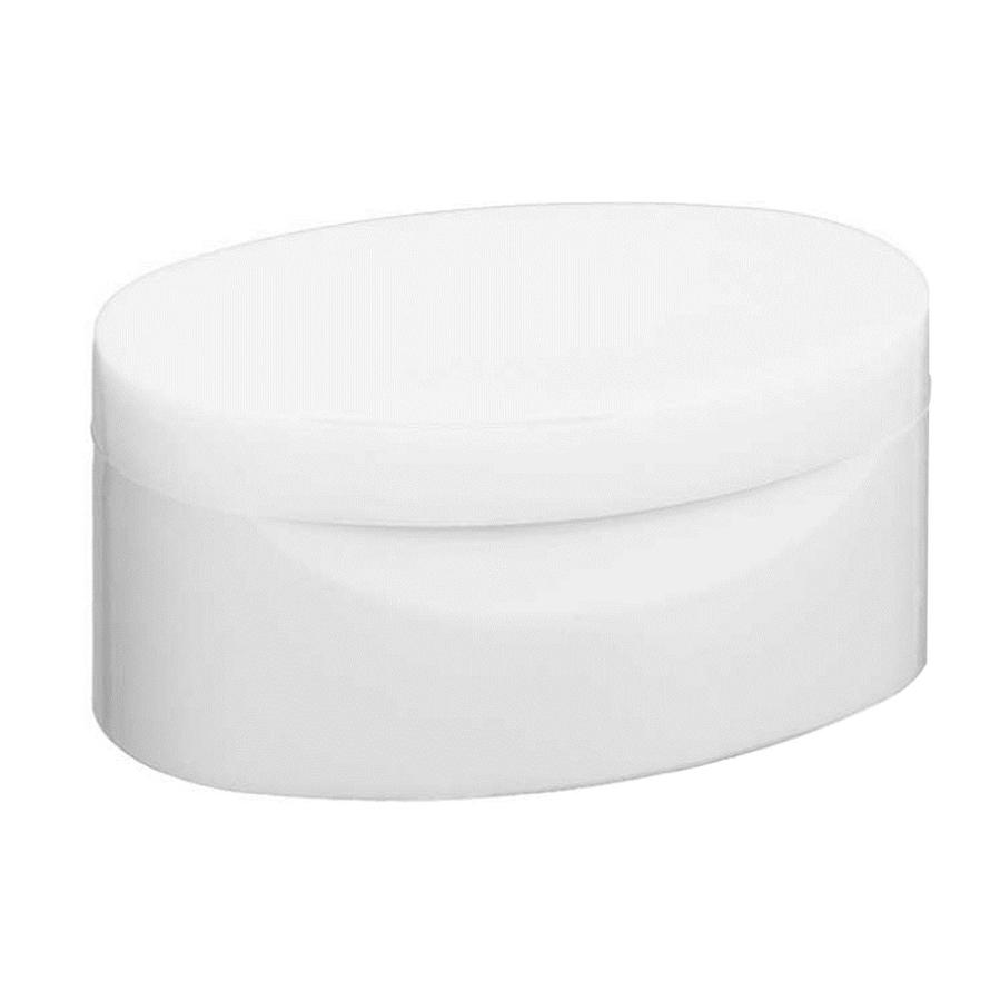 Tapa Clásica Mediana Blanco