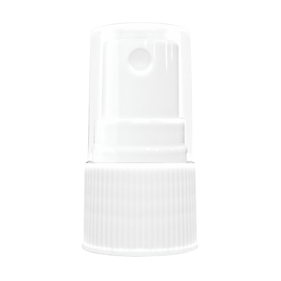 Atomizador Estriado Blanco Stock