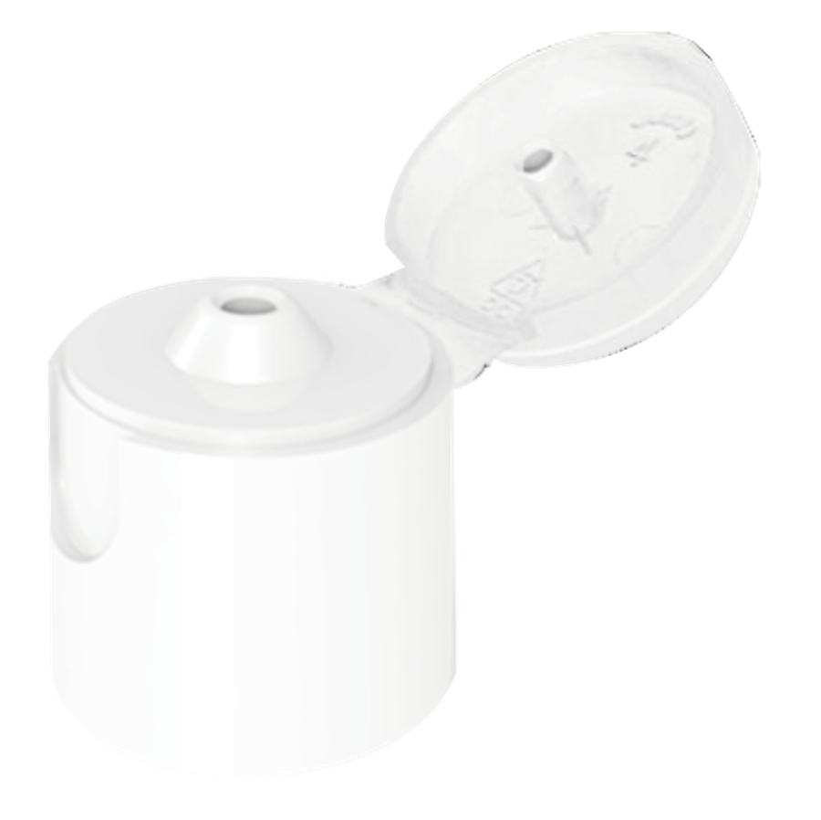 Tapa 20 Flip Top Blanco Stock